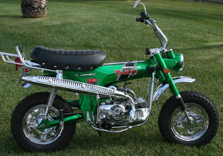 Bike Restoration By DJu0027S Custom Honda, 1970 Honda CT70HK0